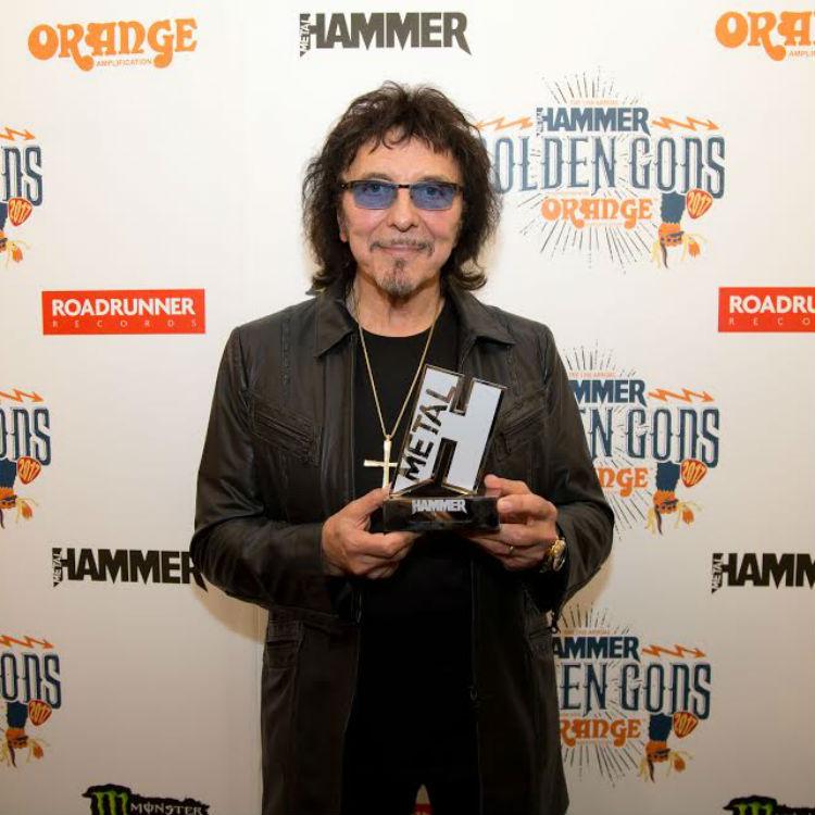 Toni Iommi talks about his future plans as Sabbath crowned Golden Gods