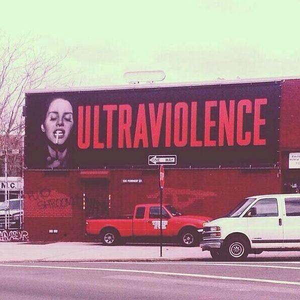 Massive Lana Del Rey Ultraviolence billboard appears in New York