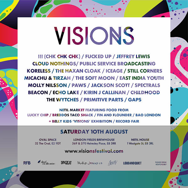 Win tickets to East London Visions festival