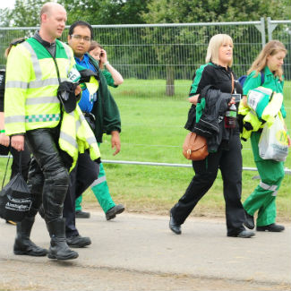 Police name V Festival goer who died in tent at Stafford site
