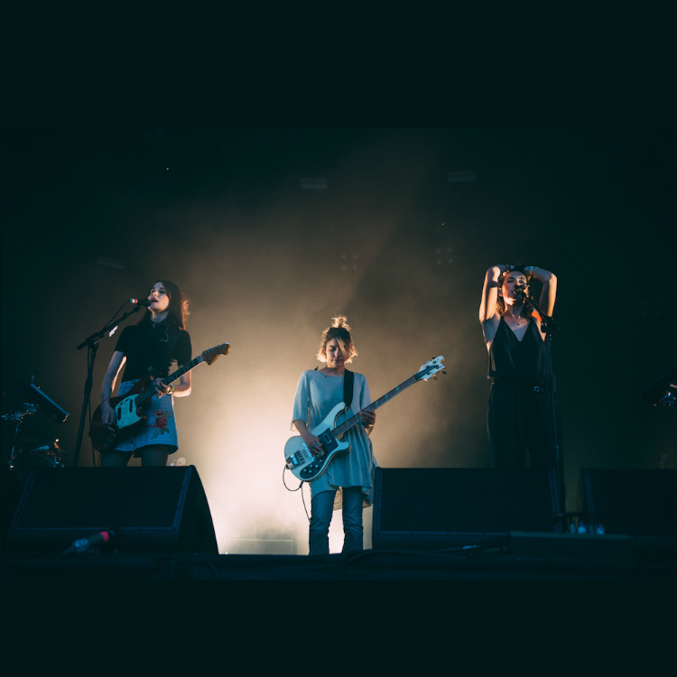 Live Review Warpaint at Somerset House summer series