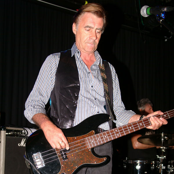 Bass player for the sex pistols