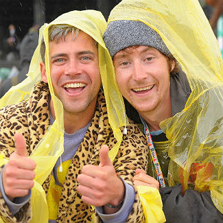 The wet and wild people of Bestival, 2013