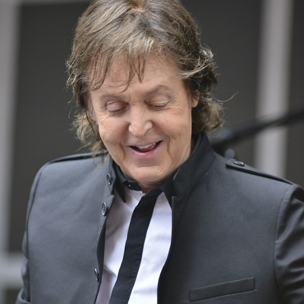 Photos: Paul McCartney plays pop-up gig in Times Square, New York
