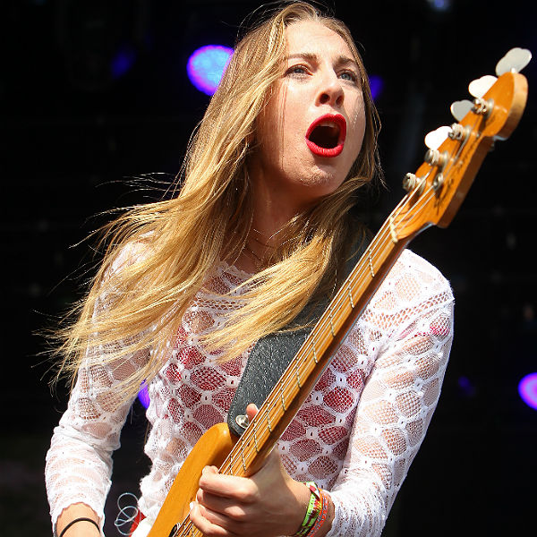 Este Haim: 'I almost died at Glastonbury'