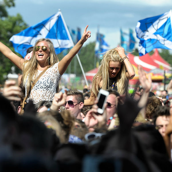 T In The Park received government funding of 150,000 pounds