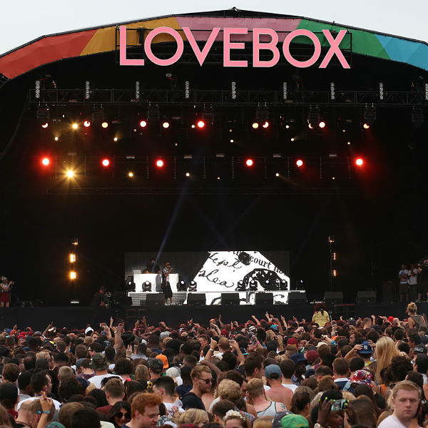Lovebox Weekender, day two - Victoria Park, London - 19/07/2014