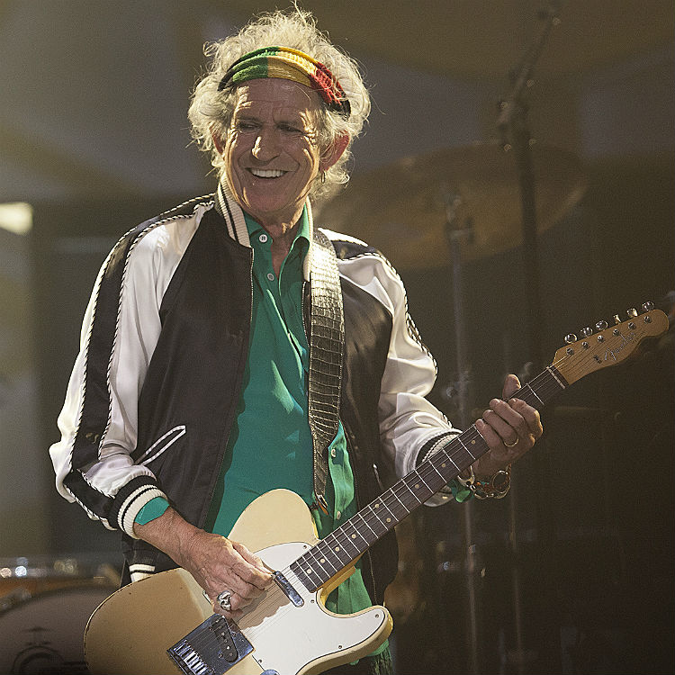 Keith Richards met Justin Bieber and it did not go well