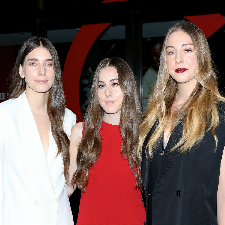 Haim perform with Laura Marling and Vampire Weekend