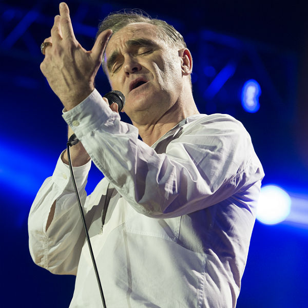8 photos of Morrissey at The O2 in London