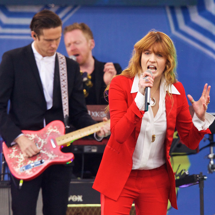 Florence + The Machine guitarist apologises for saying England fans deserve 'a kicking'