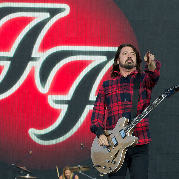 Dave Grohl breaks leg at Foo Fighters gig in Sweden - watch