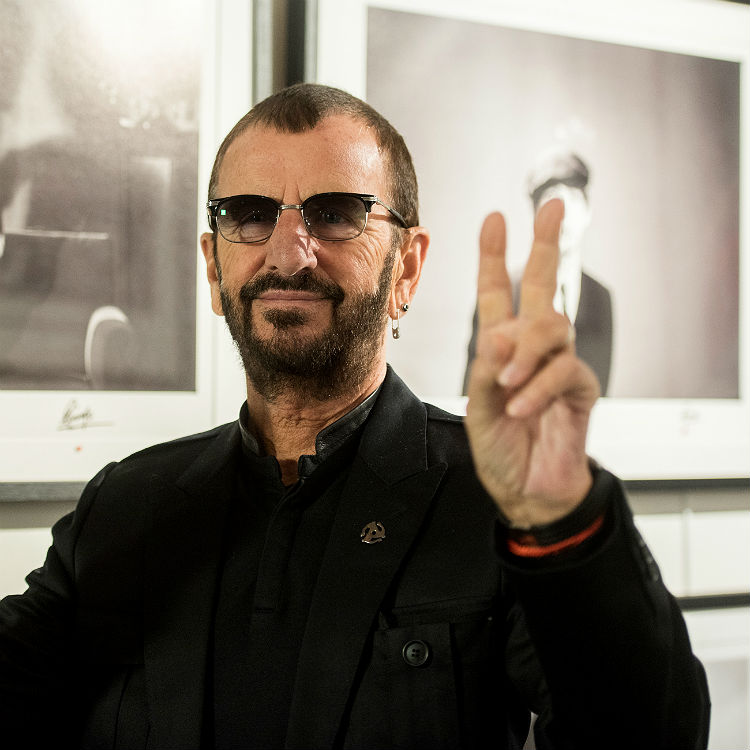 Beatles, Ringo Starr, sells, first ever copy of The White Album