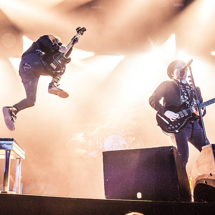 Fall Out Boy bring UK tour to epic climax at Wembley - in awesome photos