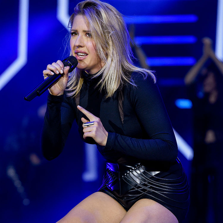 Army Ellie Goulding quit music after split from Dougie Poynter UK tour