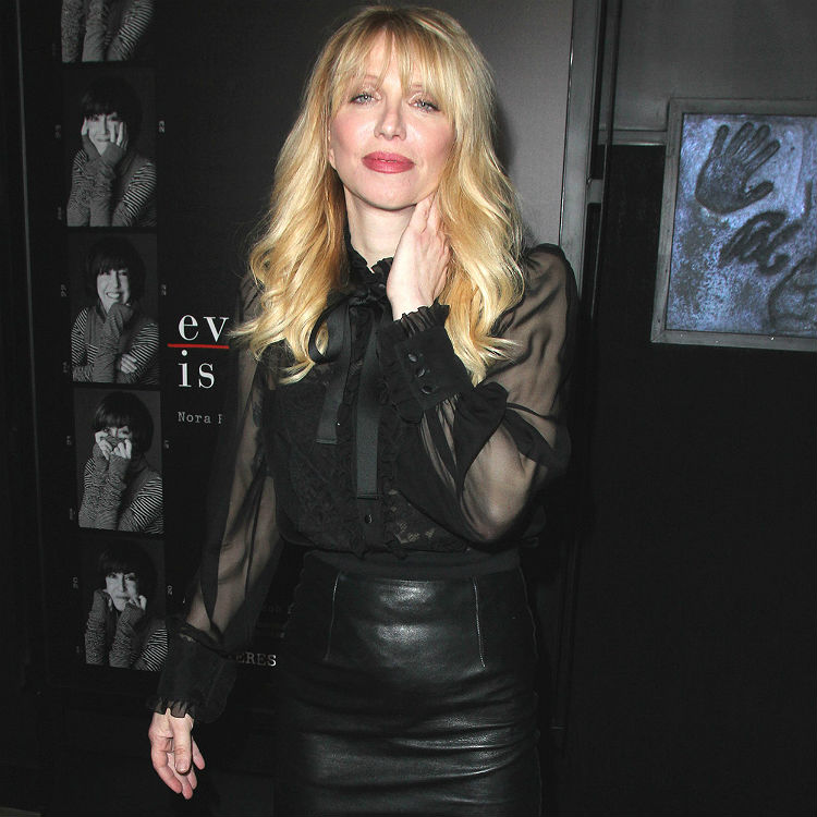 Courtney Love reportedly kicked out of Guns N Roses for being drunk