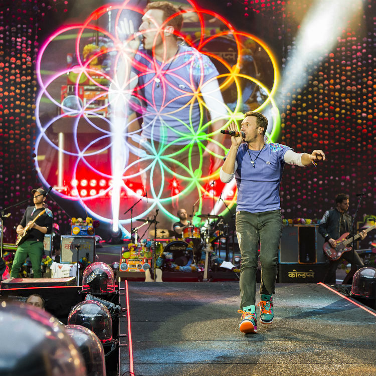 Looks like Coldplay may have a huge surprise in store at Glastonbury