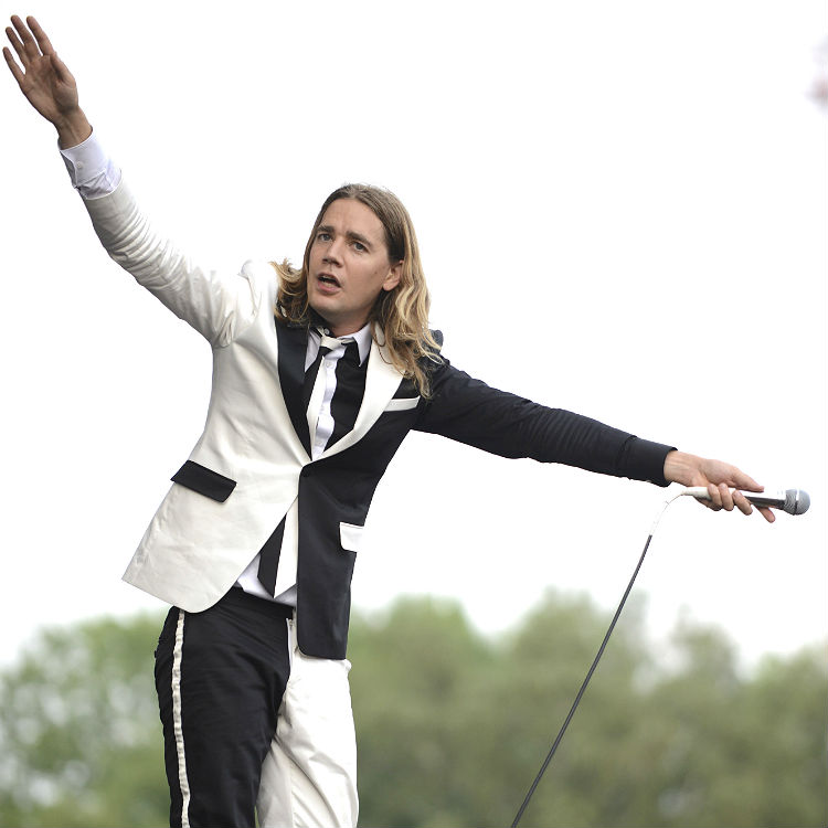 Madness, The Hives, The Darkness storm Kendal Calling day two