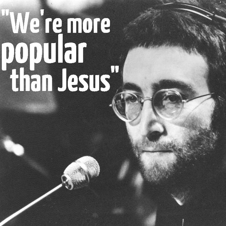 'We're more popular than Jesus': The most brilliantly cocky claims in music