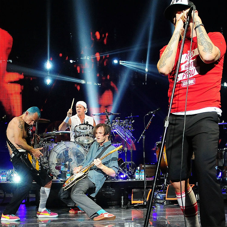 The Red Hot Chili Peppers Tour