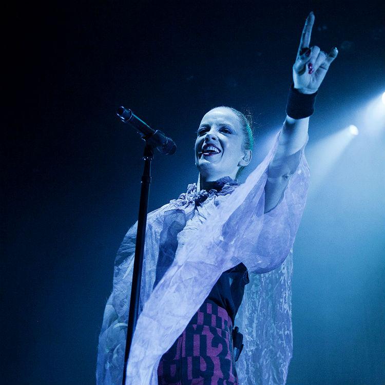 Garbage's Shirley Manson's favourite music - David Bowie, Iggy Pop