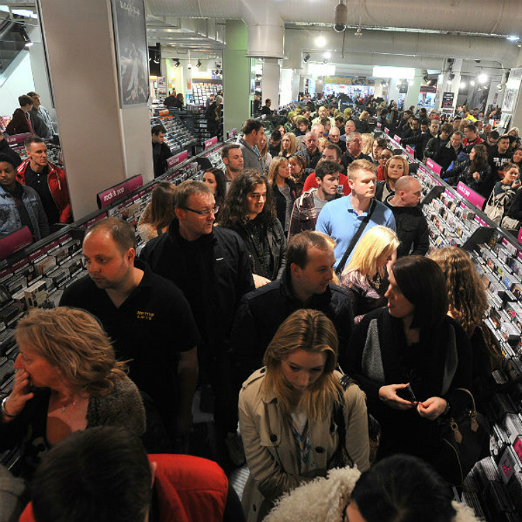 HMV is Britain's biggest retailer of physical music again