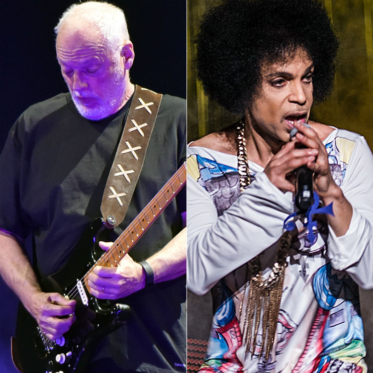 David Gilmour mashes up 'Comfortably Numb' with Prince's 'Purple Rain'