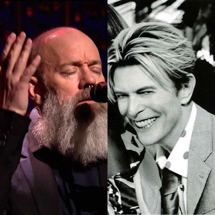 REM's Michael Stipe performs beautiful David Bowie cover