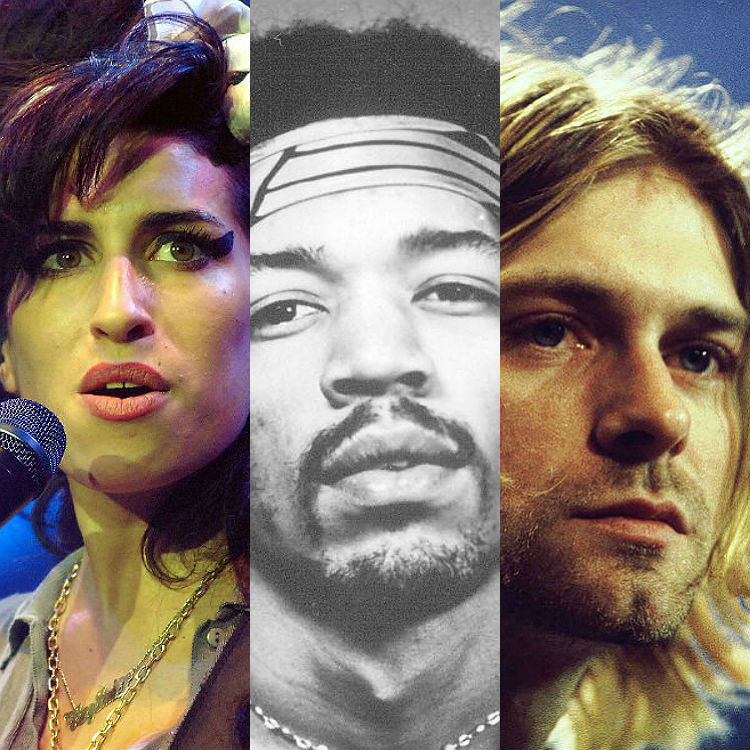 Musicians die 25 years younger science study finds, 27 Club, RIP