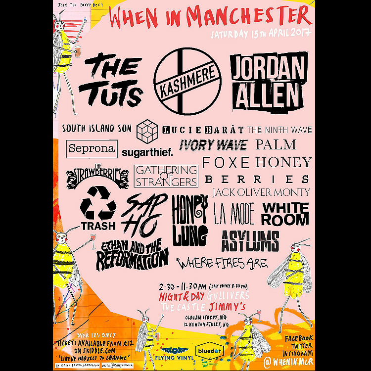 When In Manchester all-dayer to showcase best DIY bands