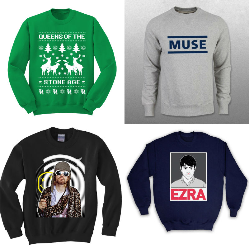 Winter is coming: The best band jumpers on the internet