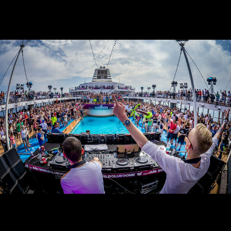 Somewhere at Sea: Five days in the life of an electronic party cruise
