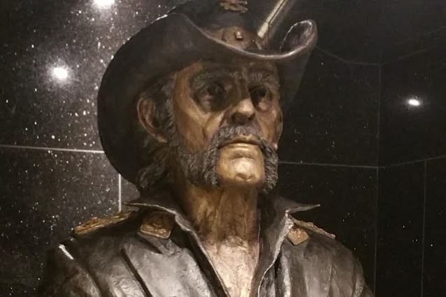 Lemmy Immortalised In Bronze