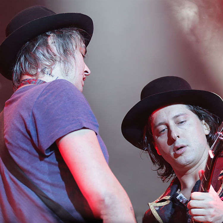 Pete Doherty and Carl Barat perform at re-opened Bataclan
