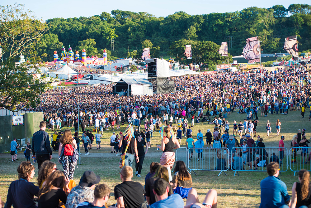 Music festival websites in 24 hour blackout to against sexual assault
