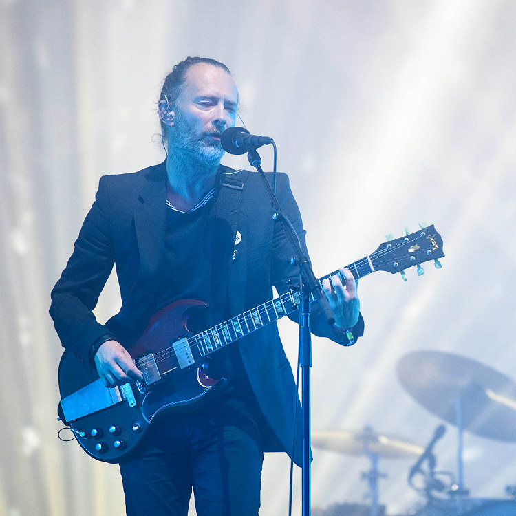 Radiohead's Thom Yorke and Jonny Greenwood perform rarities at special benefit show - watch