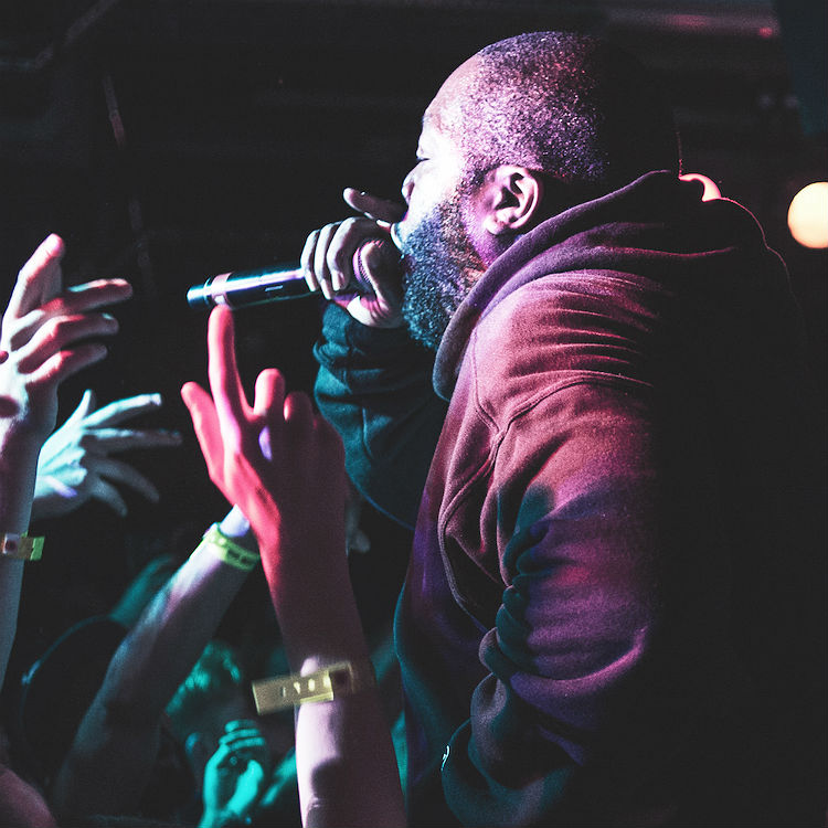 7 incredible shots of Run The Jewels at 100 Club