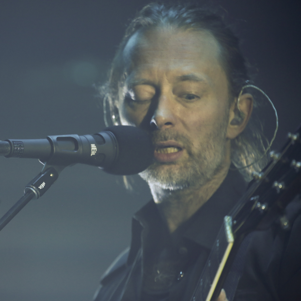 Beautiful photos of Radiohead at The Roundhouse, London
