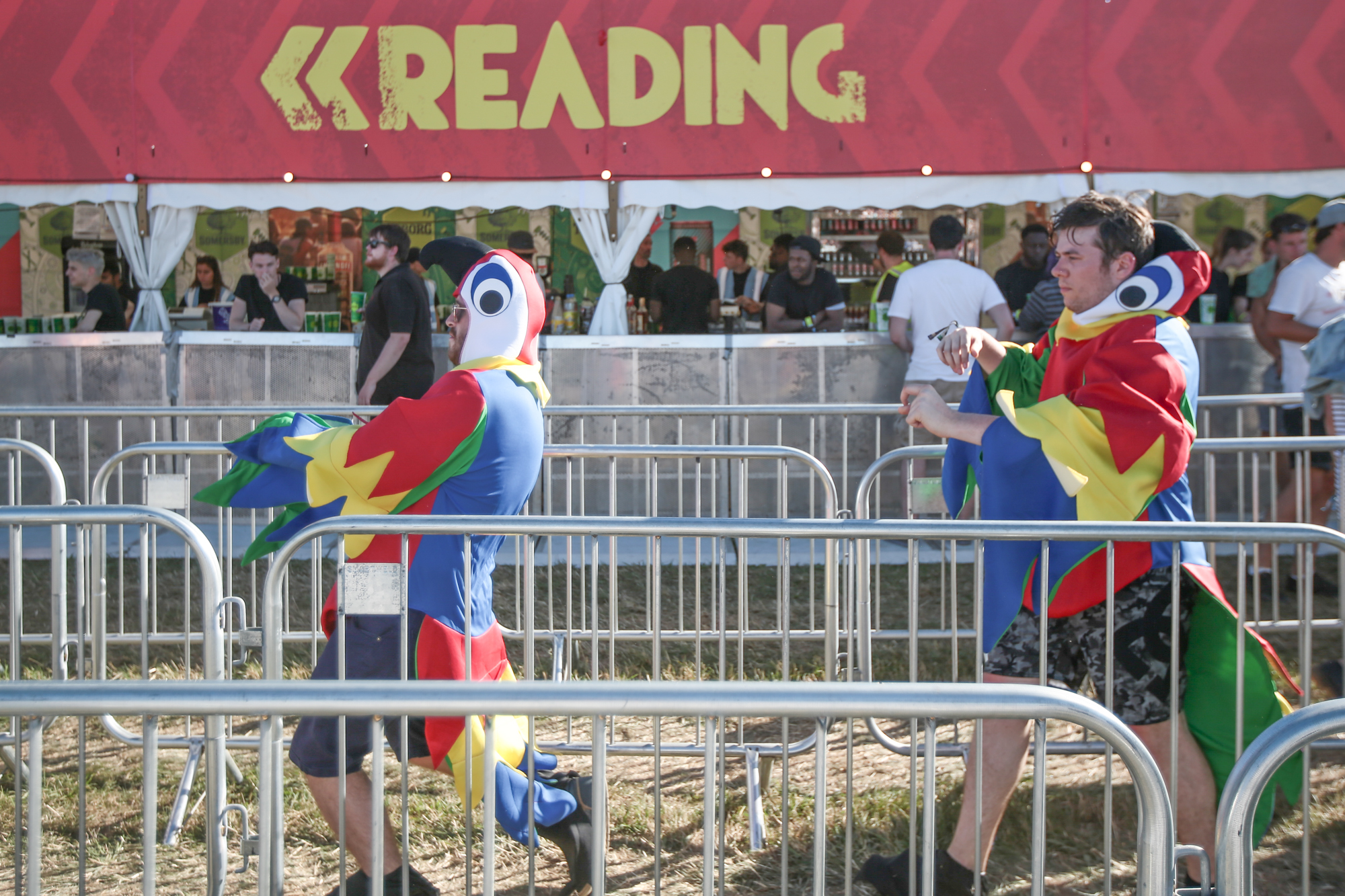 Photos of Festival atmosphere in Reading Festival 2016 Foals Friday