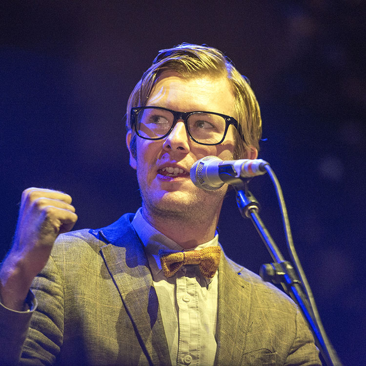 23 amazing photos of Public Service Broadcasting at Manchester Science