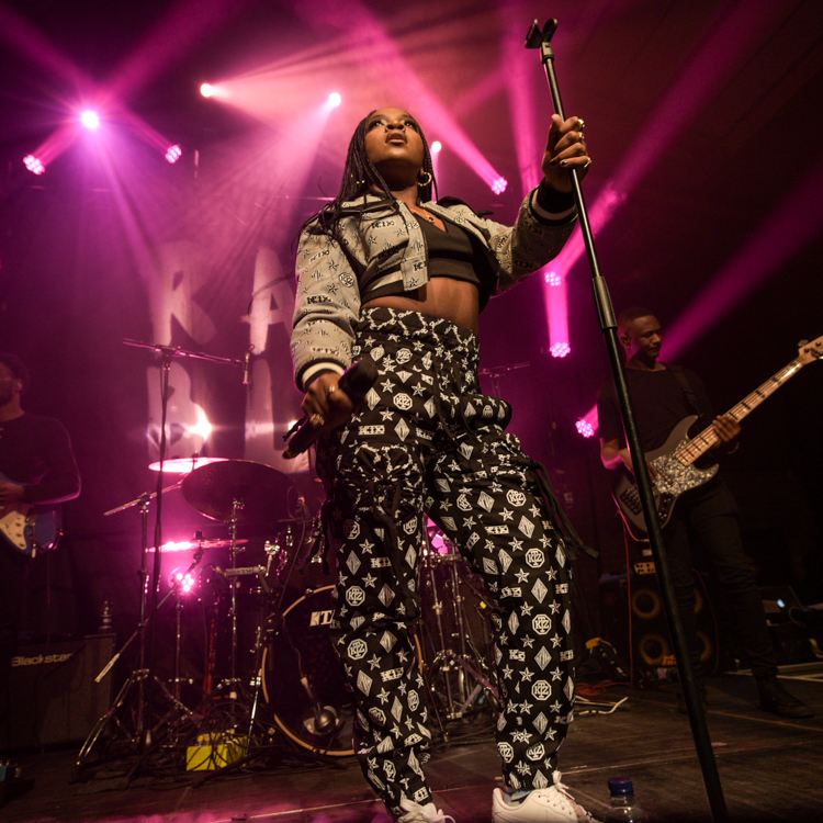 Ray BLK warms a sold out crowd at Village Underground