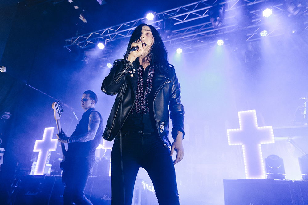 Creeper live at Manchester Academy 2, 26/03/17