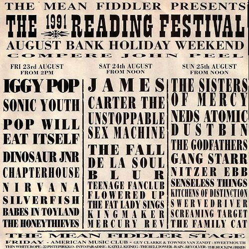 26 Years Of Reading And Leeds Festival Line Up Posters