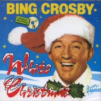 """Dave's Music Database: Bing Crosby hit #1 with """"White Christmas"""" fifty  years ago today (10/31/1942)"""