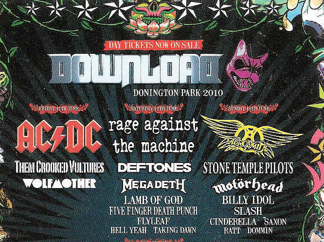 What was the best Download Festival line-up ever? | Gigwise