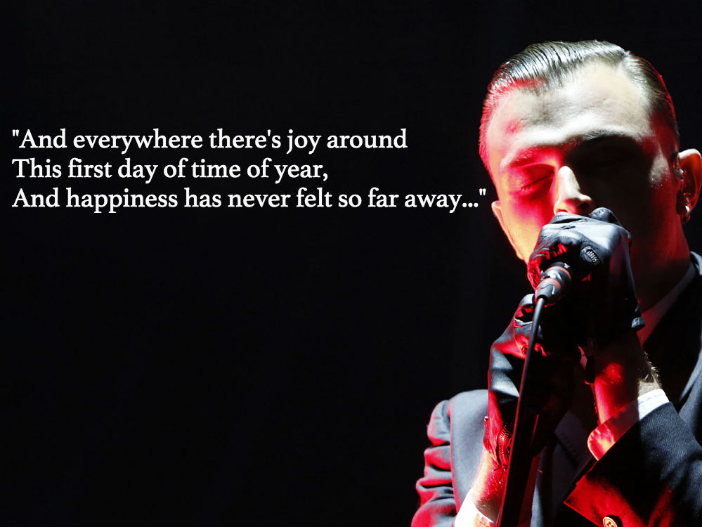 Tom waits christmas card lyrics