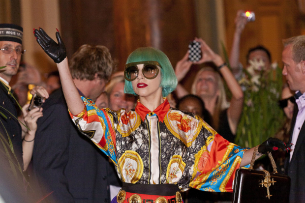 Gaga backs gay rights in trump's america