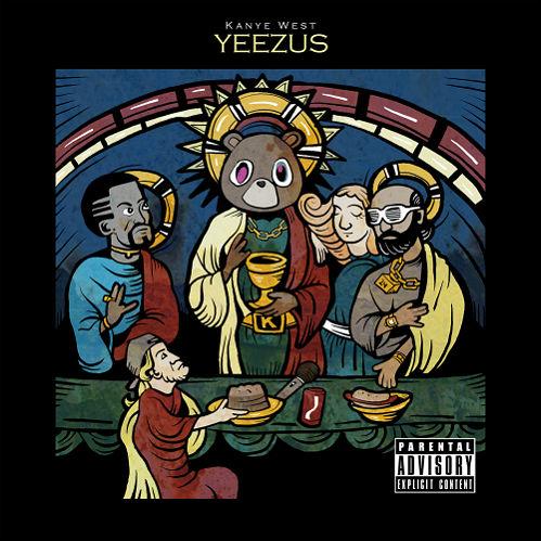 10 cool alternative covers for Kanye West's sleeveless Yeezus album