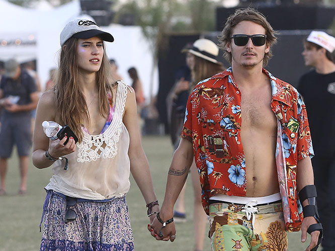 Backstage At Coachella Mischa Barton Ben Howard And More