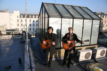 Beatles Tribute Band Sidestep Ban To Play Rooftop Gig